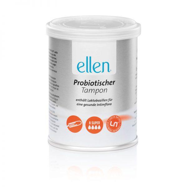 ELLEN® PROBIOTIC TAMPON® SUPER / 8 Stk.